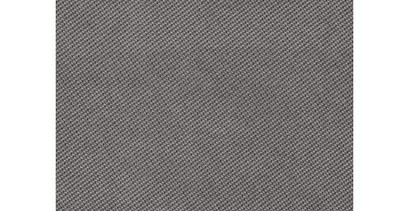 WOHNLANDSCHAFT inkl.Funktionen Hellgrau Webstoff  - Dunkelbraun/Hellgrau, Design, Kunststoff/Textil (166/258cm) - Cantus