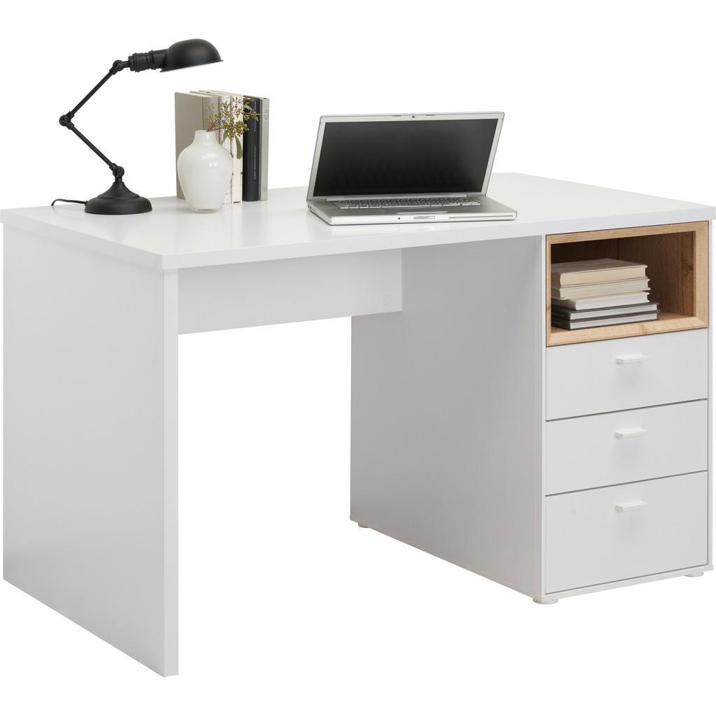 Hom`in Schreibtisch weiß