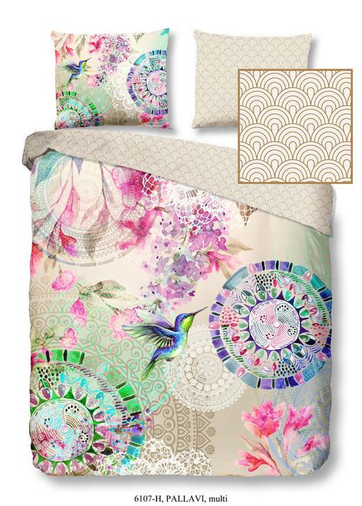 BETTWÄSCHE Satin Multicolor 200/200 cm - Multicolor, Textil (200/200cm)
