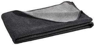 WOHNDECKE 150/200 cm - Silberfarben/Grau, Basics, Textil (150/200cm) - Novel
