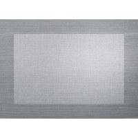 TISCHSET - Silberfarben/Schwarz, Basics, Kunststoff (33/33/46cm) - ASA