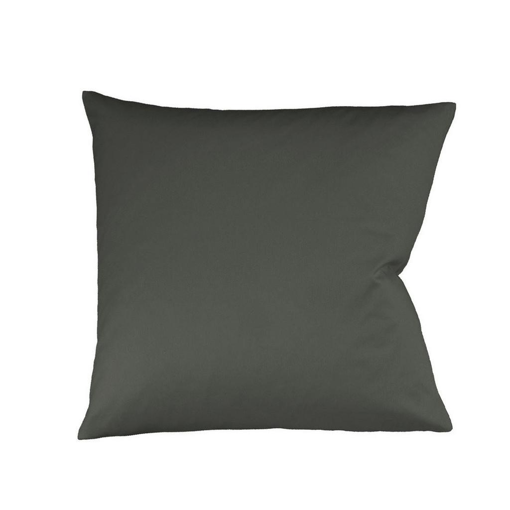 FLEURESSE KISSENHÜLLE Grau 40/40 cm