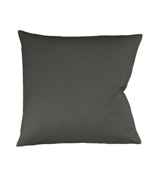 KISSENHÜLLE Anthrazit 40/40 cm - Anthrazit, Basics, Textil (40/40cm) - Fleuresse
