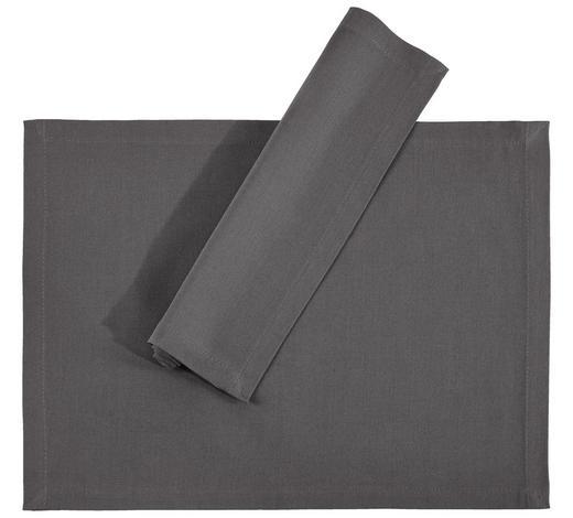 TISCHSET 33/45 cm Textil  - Grau, Basics, Textil (33/45cm) - Novel