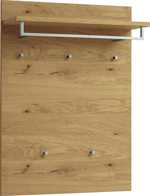 GARDEROBENPANEEL 80/109/27 cm - Eichefarben, Natur, Holz (80/109/27cm) - Novel