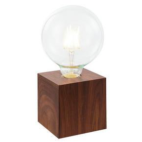 BORDSLAMPA - ekfärgad, Natur, metall/glas (10/10/10cm) - Boxxx