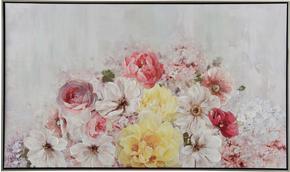 TAVLA - silver/multicolor, Basics, trä/textil (120/70cm) - Monee