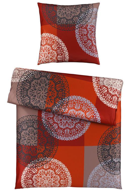 BETTWÄSCHE Satin Rot 155/220 cm - Rot, Design, Textil (155/220cm) - Esposa
