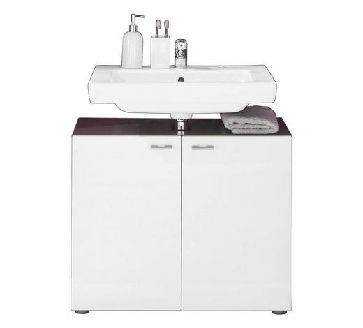 Waschbeckenunterschrank Weiss Hochglanz Kaufen