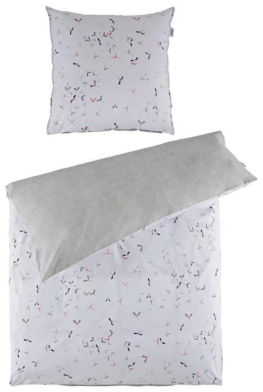 Bettwasche Perkal Beige Creme Grau Rosa 135 200 Cm Online Kaufen