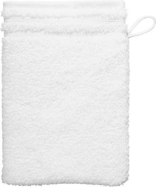 WASCHHANDSCHUH  Weiß - Weiß, Basics, Textil (22/16cm) - Vossen