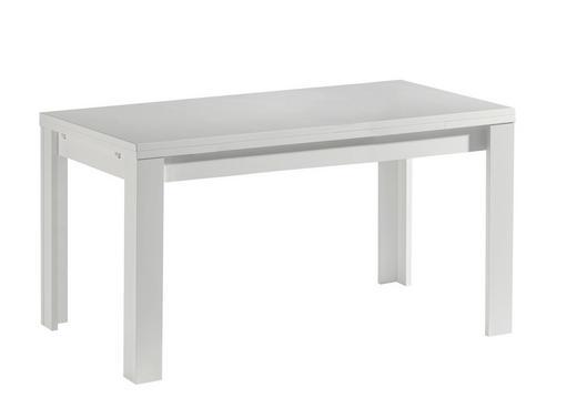 ESSTISCH rechteckig Weiß - Weiß, Design (160-216/80/78cm) - Carryhome