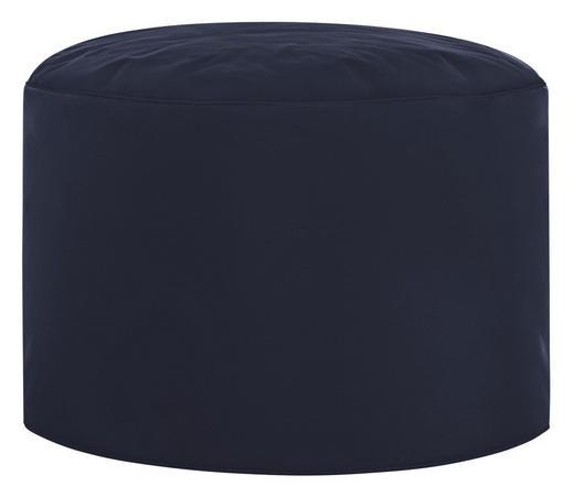 HOCKER Blau - Blau, Design, Textil (50/30cm) - Carryhome