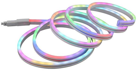 LED-Dekoleuchte Melanie - Weiß, MODERN, Kunststoff (300cm) - Luca Bessoni