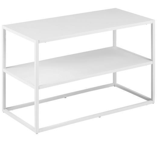 SCHUHREGAL 70/45,5/33 cm - Weiß, Trend, Metall (70/45,5/33cm) - Carryhome