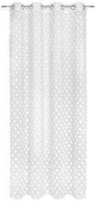 ZÁVĚS HOTOVÝ - bílá, Trend, textil (140/245cm) - ESPOSA