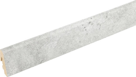 SOCKELLEISTE Grau - Grau, Basics, Holz/Papier (240/1,85/3,85cm) - Homeline