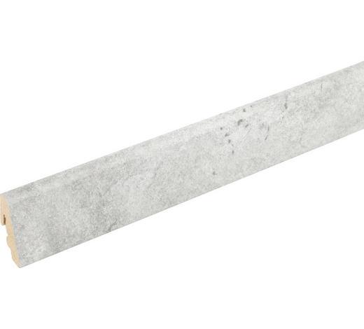 SOCKELLEISTE Grau  - Grau, Basics, Holz/Papier (240/1,85/3,85cm) - Homeware