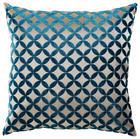 ZIERKISSEN - Blau/Goldfarben, Basics, Textil (45/45cm)