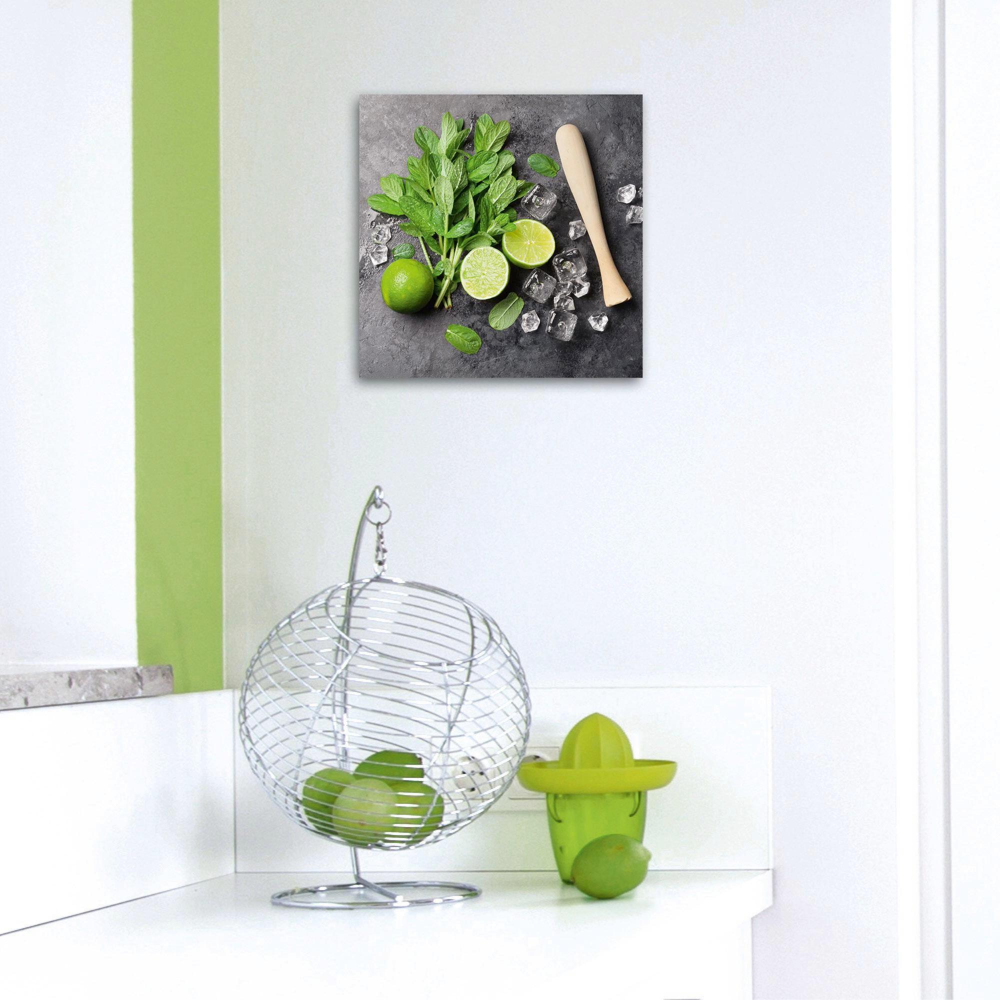 GLASBILD - Multicolor, Basics, Glas (30/30/2cm) - EUROGRAPHICS