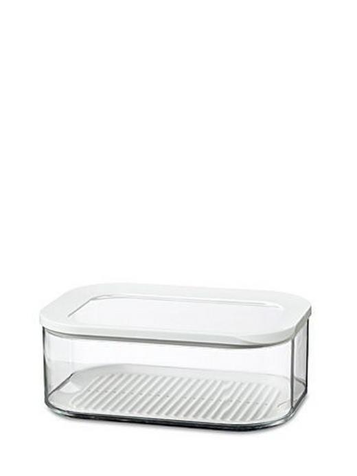 VORRATSDOSE 2 L - Transparent/Weiß, Basics, Kunststoff (2l) - MEPAL ROSTI