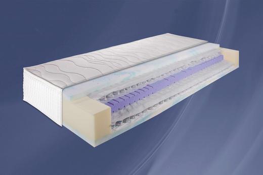 BOXSPRINGMATRATZE 140/200 cm - Weiß, Basics, Textil (140/200cm) - Carryhome