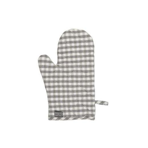 TOPFHANDSCHUH - Grau, Basics, Textil (15/32cm) - LINUM