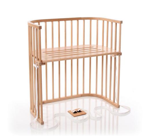 BEISTELLBETT Babybay Boxspring - Klar, Basics, Holz (94/54/96,5cm) - Tobi