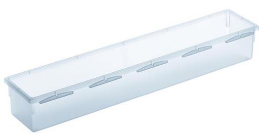 AUFBEWAHRUNGSBOX - Klar, Basics, Kunststoff (38/8/5cm)