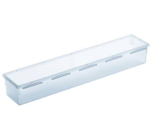 BOX ÚLOŽNÝ, umělá hmota - čiré, Konvenční, umělá hmota (38/8/5cm) - Rotho