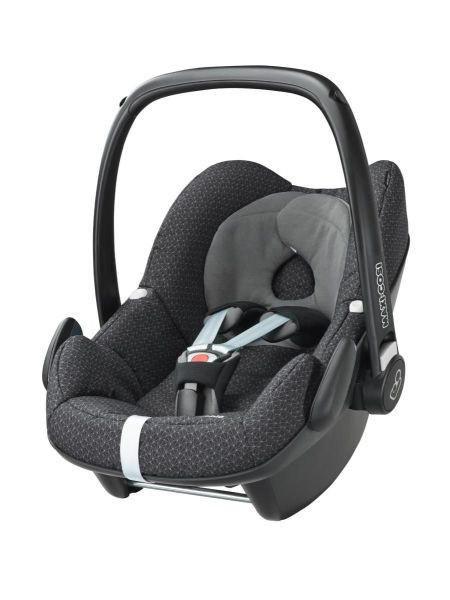 Babyschale Pebble - Schwarz, Basics, Kunststoff/Textil (44/56/67cm) - MAXI COSI