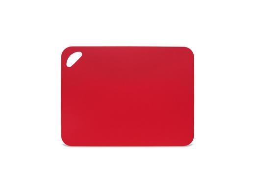 SCHNEIDEBRETT 38/29/0,2 cm - Rot, Basics, Kunststoff (38/29/0,2cm) - HOMEWARE
