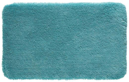 BADTEPPICH  Türkis  60/100 cm - Türkis, Basics, Kunststoff/Textil (60/100cm) - KLEINE WOLKE