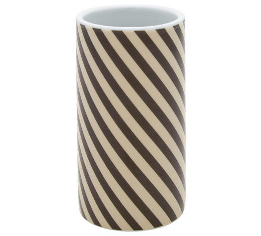 KELÍMEK, hnědá, béžová - hnědá/béžová, Basics, keramika (6/11,8cm) - Sadena