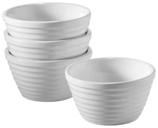 SCHÜSSELSET Porzellan - Weiß, Basics (9,5cm) - HOMEWARE