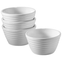 SCHÜSSELSET Keramik Porzellan 4-teilig - Weiß, Basics, Keramik (9,5cm) - Homeware