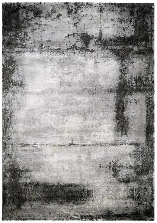 WEBTEPPICH  133/190 cm  Silberfarben - Silberfarben, Design, Kunststoff (133/190cm) - Novel