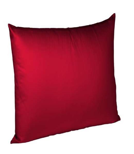 KISSENHÜLLE Rot 40/40 cm - Rot, Basics, Textil (40/40cm) - FLEURESSE