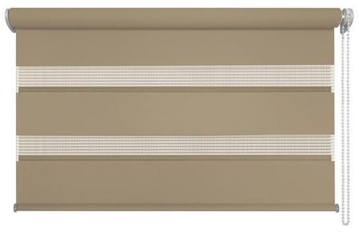 DUOROLLO  halbtransparent    80/210 cm - Braun, Design, Textil (80/210cm) - Homeware