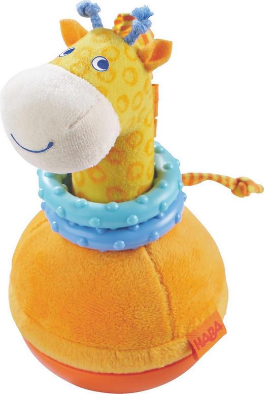 STEHAUFFIGUR Giraffe - Multicolor, Basics, Kunststoff/Textil (9/18cm) - Haba