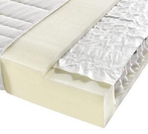 POCKETRESÅRMADRASS - vit, Basics, textil (90/200cm) - Sleeptex