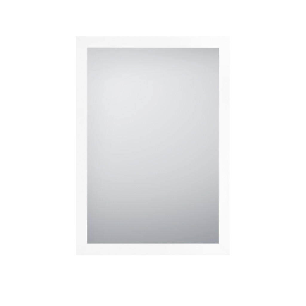 XXXLutz Wandspiegel , Thea , Glas , 48x68x1.6 cm , foliert,glänzend,Nachbildung , senkrecht und waagrecht montierbar , 001234000603