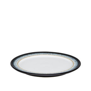 ASSIETT - vit/brun, Basics, keramik (20,5cm) - Denby