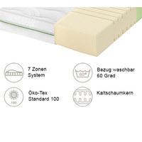 KALTSCHAUMMATRATZE ROAD 230 COMFEEL PLUS 90/200 cm 18 cm - Weiß, Basics, Textil (90/200cm) - Schlaraffia