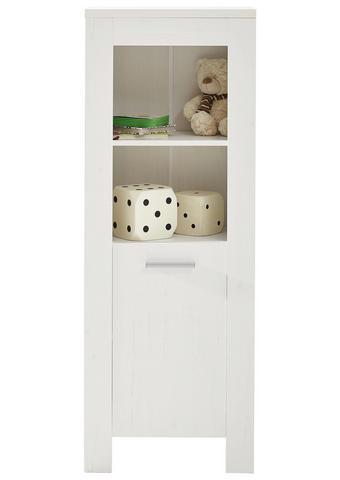 KOJENECKÝ REGÁL - bílá/barvy hliníku, Konvenční, kompozitní dřevo/umělá hmota (50/136/32cm) - My Baby Lou