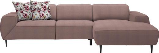 WOHNLANDSCHAFT in Textil Rot - Rot/Multicolor, Basics, Textil/Metall (292/170cm) - Dieter Knoll