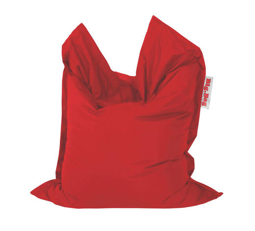 SITZSACK in Textil Rot  - Rot, Design, Textil (130/170cm)