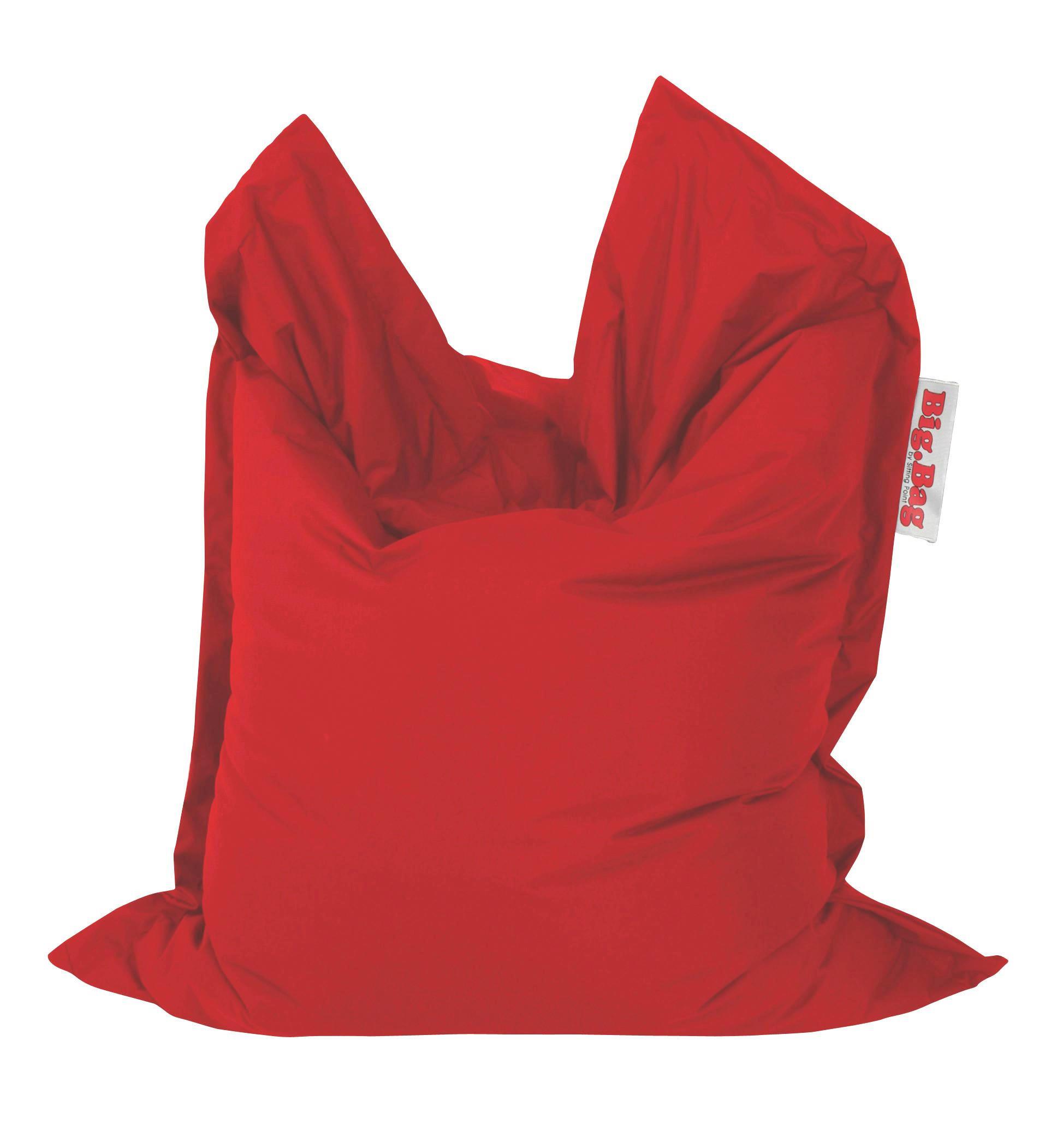 SITZSACK in Rot Textil - Rot, MODERN, Textil (130/170cm)