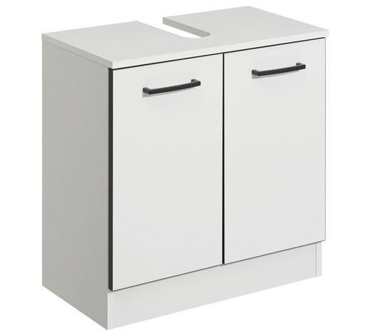 WASCHBECKENUNTERSCHRANK 60/62/33 cm - Anthrazit/Weiß, KONVENTIONELL, Holzwerkstoff/Kunststoff (60/62/33cm) - Xora
