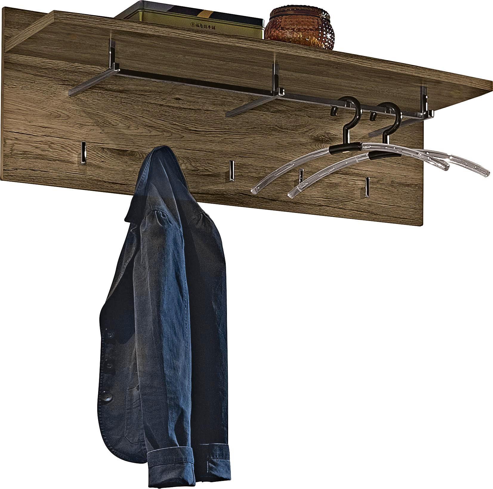 GARDEROBENPANEEL Eichefarben - Eichefarben, KONVENTIONELL (95/35/30cm)